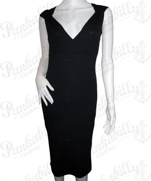 Black Plain Dress