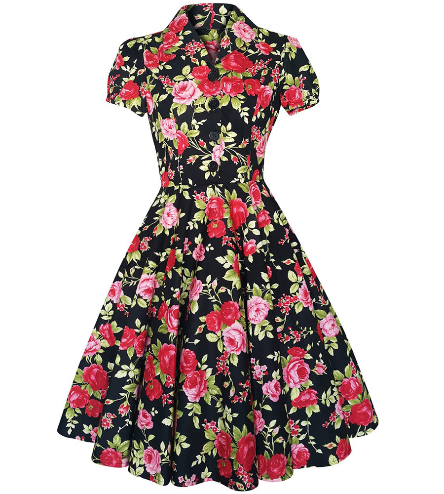 1950's Style Tea Party Dress