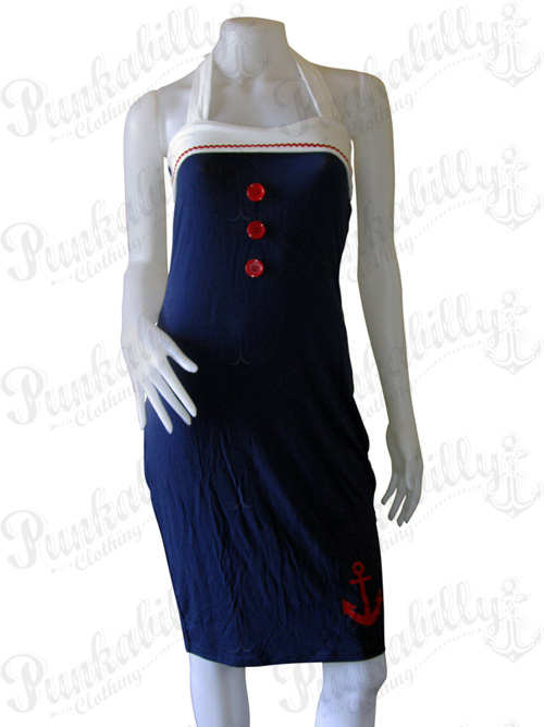Rockabilly Sailor Dress