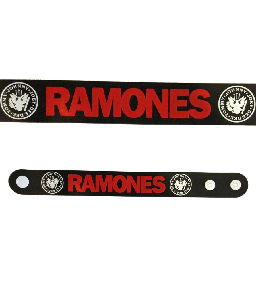 Ramones Rubber Bracelet
