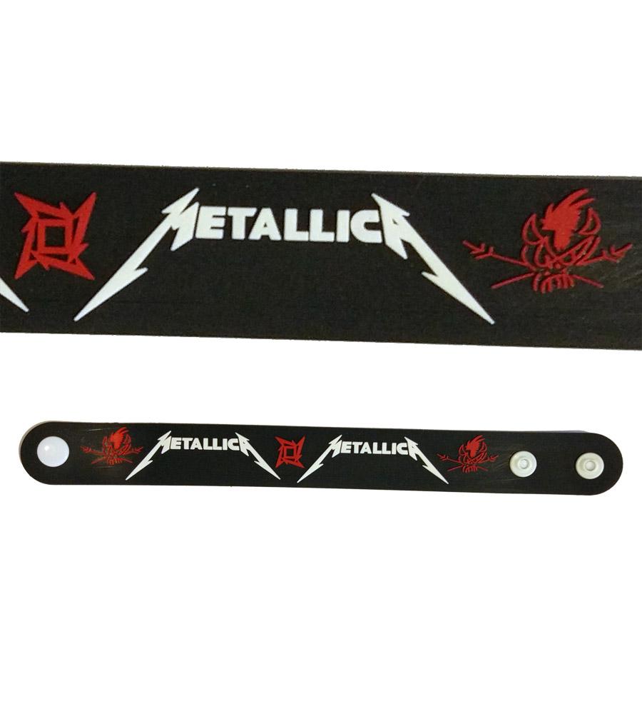 Metallica Rubber Bracelet