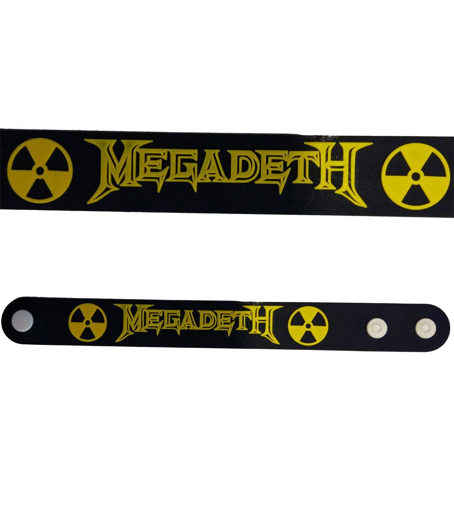 Megadeth Rubber Bracelet