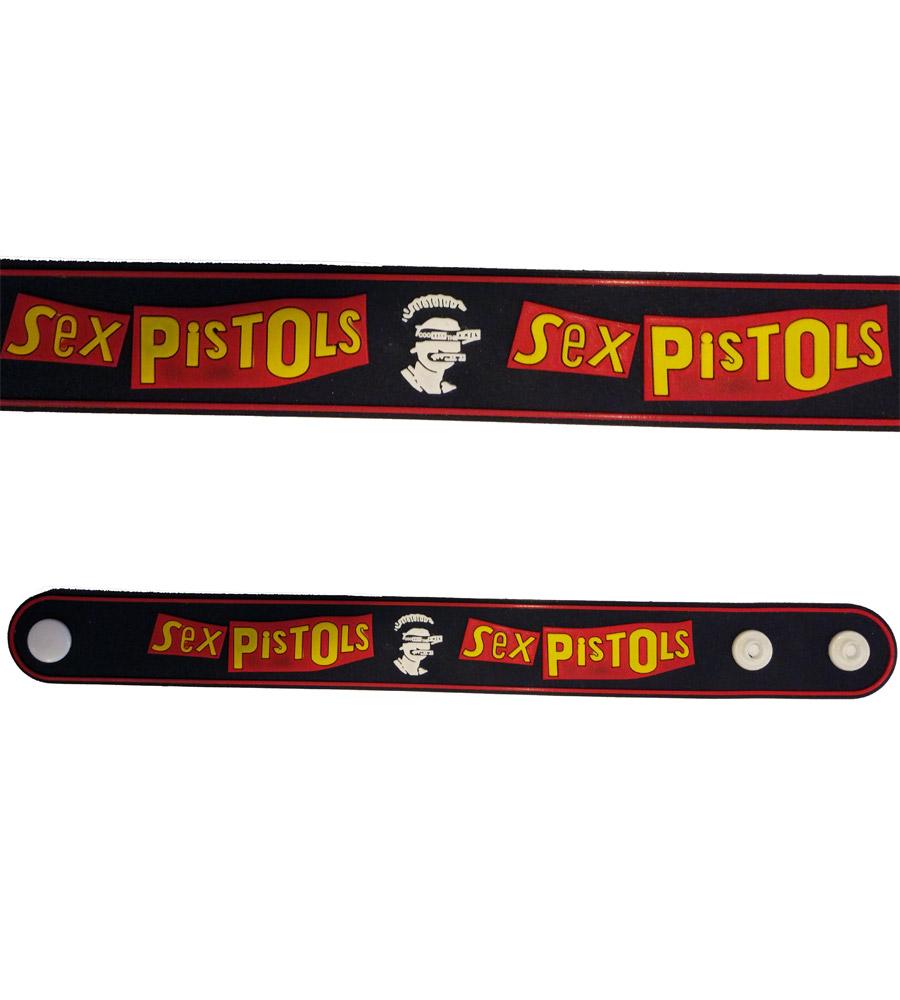 Sex Pistols Rubber Bracelet