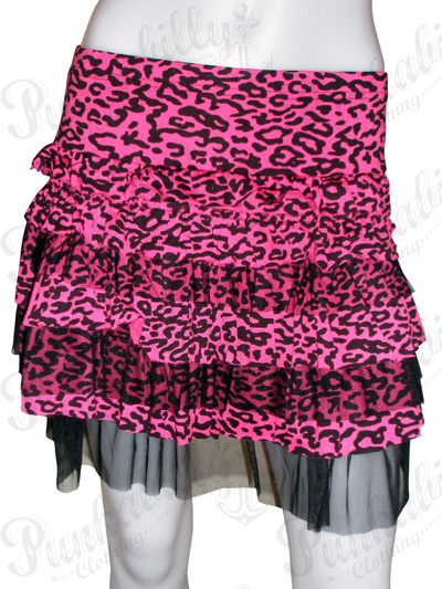 Rockabilly Leopard Skirt