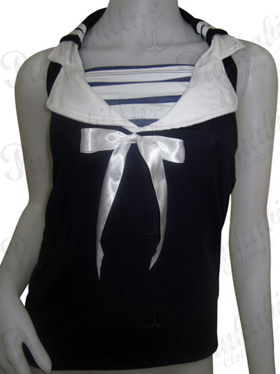 Rockabilly Sailor Top