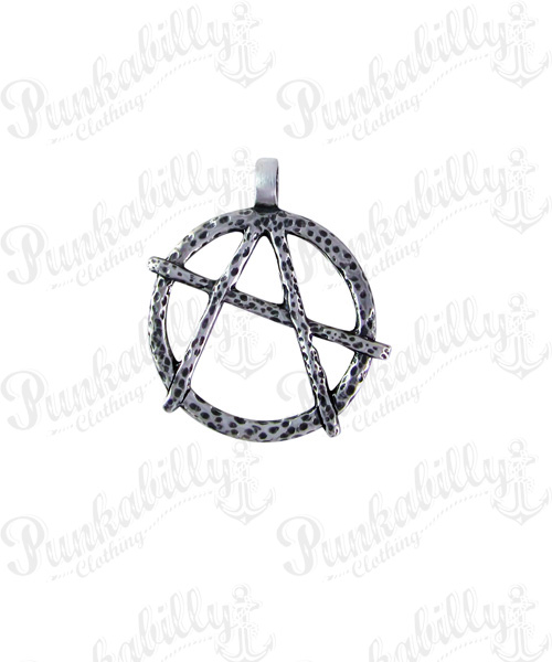 Anarchy Pewter Pendant