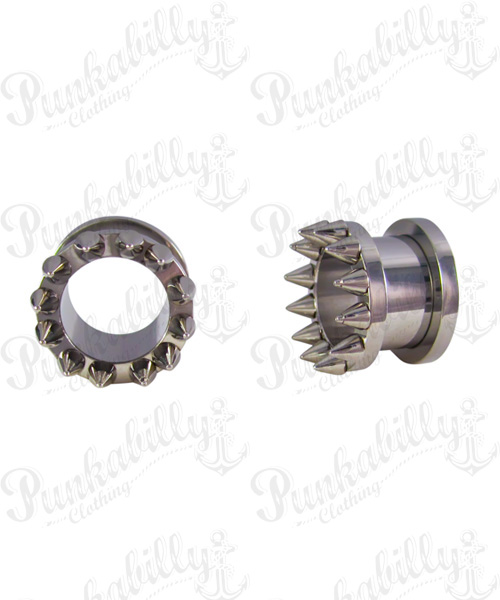 Stainless Steel Spikes Tunnel