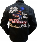 """Road Runner"" Embroidered Jacket"