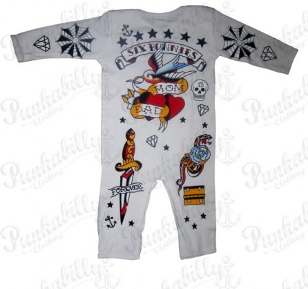 Rockabilly Baby Onesie