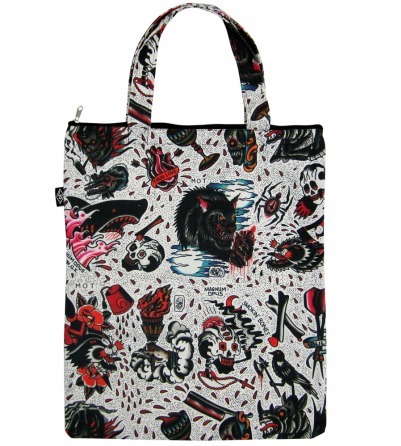 Flash Tattoo Design Canvas Bag