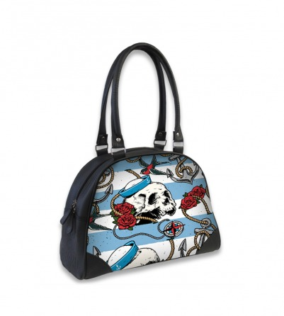 Nautical Skull Bowling Bag