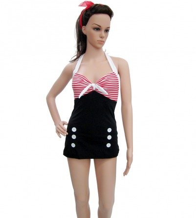 Vintage Retro Pin Up Swimwear