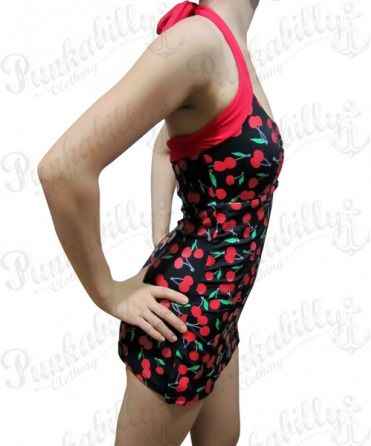 One piece Cherry Bathing suit
