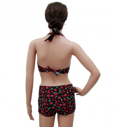 Vintage Inspired Cherry Bikini