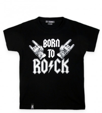Born To Rock Rockabilly kids t-shirt