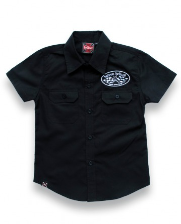 Wall Of Death Boy Work Shirt