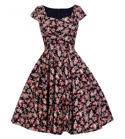 1950s Inspired Floral Tea dress