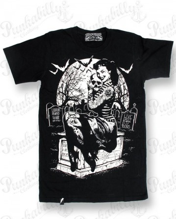 """Graveyard Girl"" Man T-Shirt"