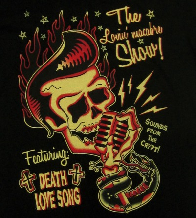 """Death Love Song"" Man T-Shirt"