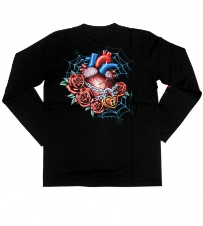 Skull Tattoo Face Long Sleeves Men Shirt