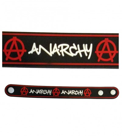 Anarchy Rubber Bracelet