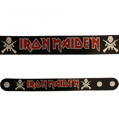 Iron Maiden Rubber Bracelet