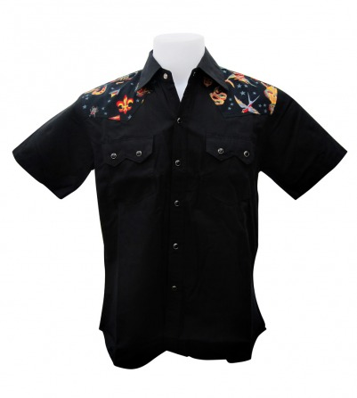 Tattoo Flash Design Work Shirt