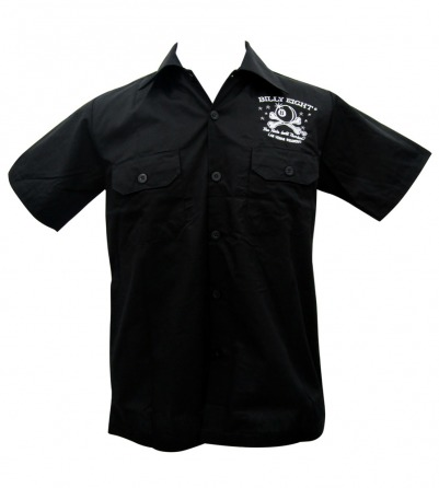 Billy Eight Collared Work Shirt