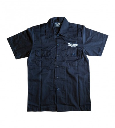 "Tiger Design ""Triumph""  Men Work Shirt"