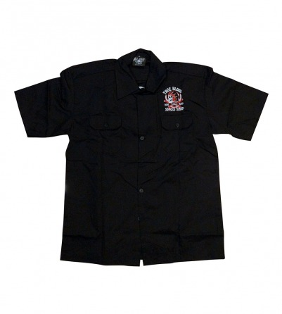 "True Blood ""Ride Hard""  Men Work Shirt"