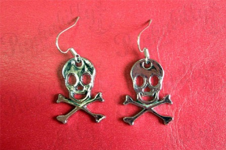 Crossbones Skulls Earrings