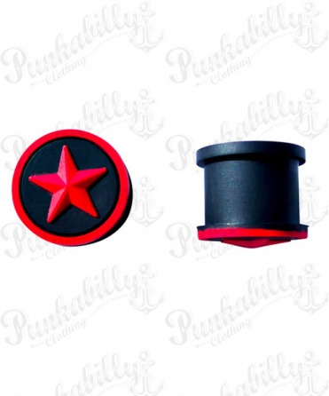 Red Star Design Silicone Plug