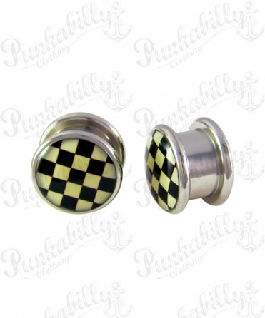 Stainless Steel Checker Plug