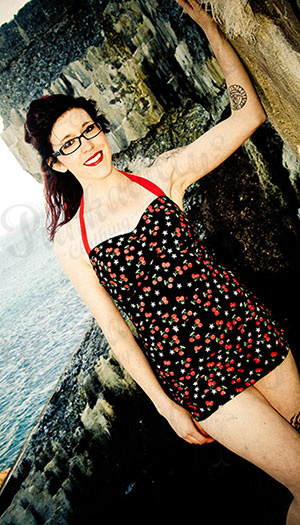 Pin Up Cherry Swimsuit