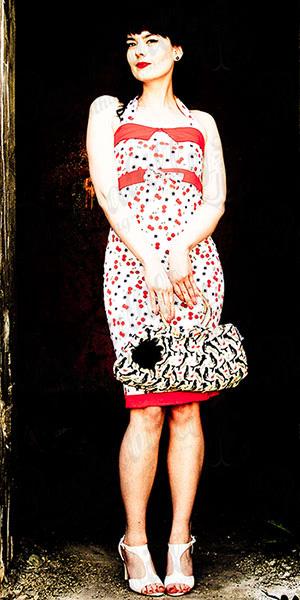 Cherrys & stars dress